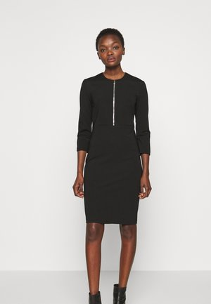 PANNACOTTA ABITO  - Shift dress - nero limousine