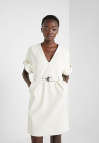 Pinko - ABITO DRESS - Day dress - white - 0