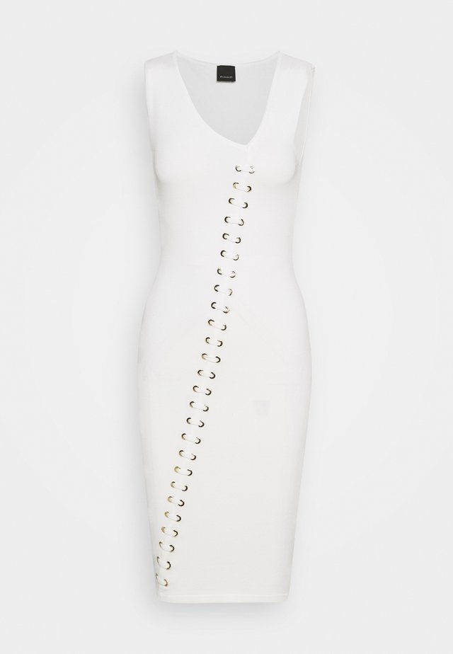KIGALI DRESS - Jumper dress - white