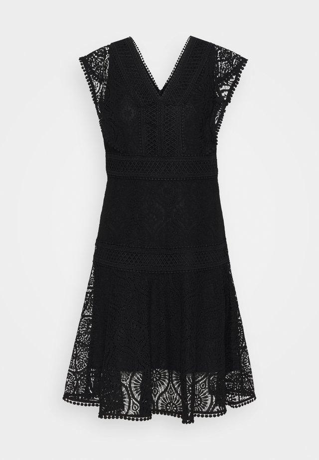 SHANNON DRESS - Vestito estivo - black