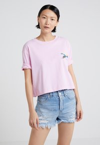 Pinko - ENOLOGIA - T-shirt con stampa - pink - 0