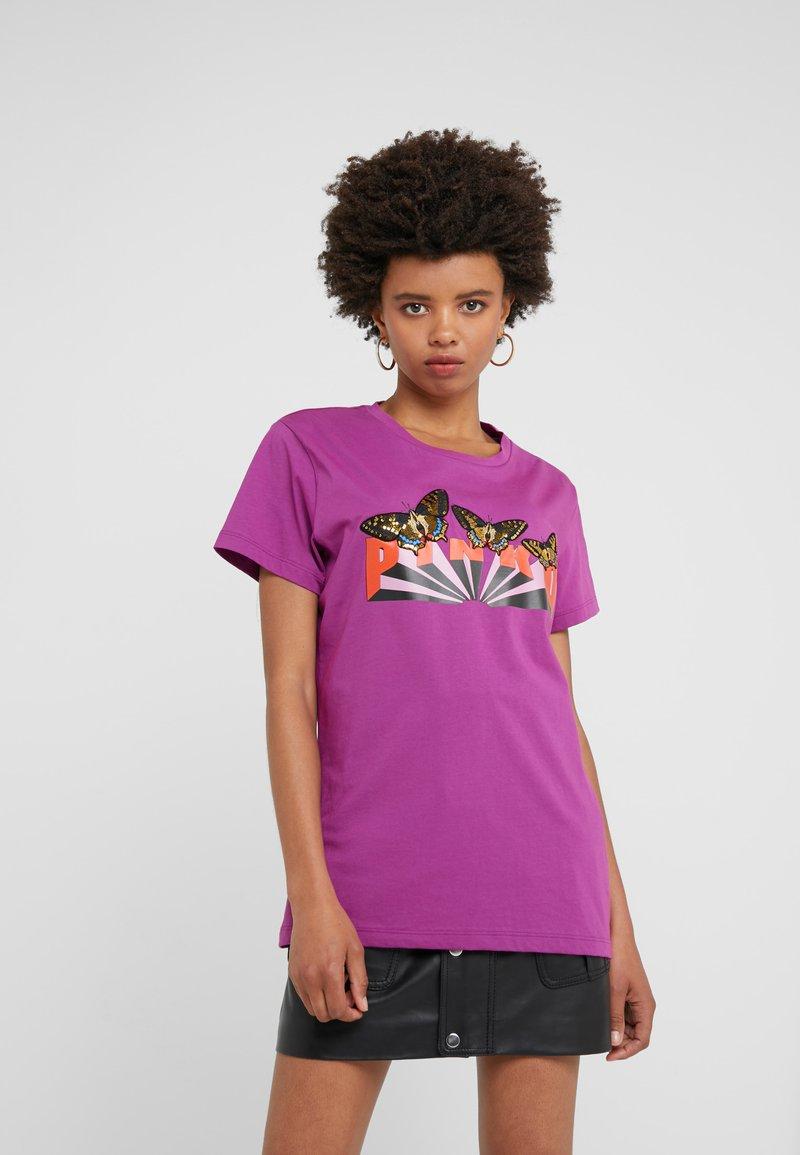 Pinko - HALO - T-shirt imprimé - purple