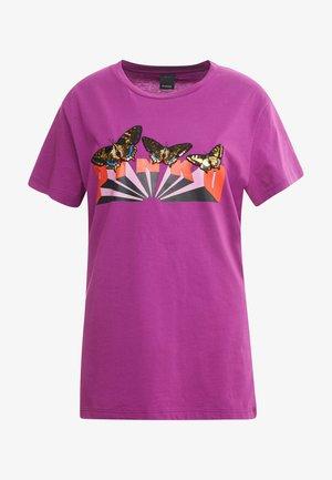 HALO - T-shirts print - purple
