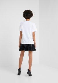 Pinko - BREATH  - T-shirts med print - multibianco/lila - 2