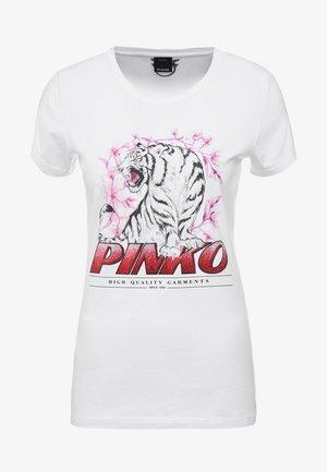 PIMPI - Printtipaita - white