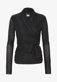 Pinko - PUCCA COPRISPALLE MAGLINA - Long sleeved top - black - 3