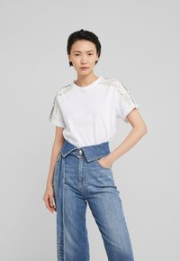 Pinko - QUERCIA - Print T-shirt - white - 0