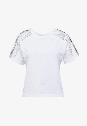 QUERCIA - Printtipaita - white
