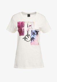 Pinko - SCONES - T-shirts med print - bianco - 4