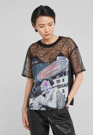 MARGHERITINE - T-shirt print - nero limousine