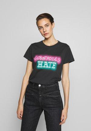 GALLIANO  - T-Shirt print - black