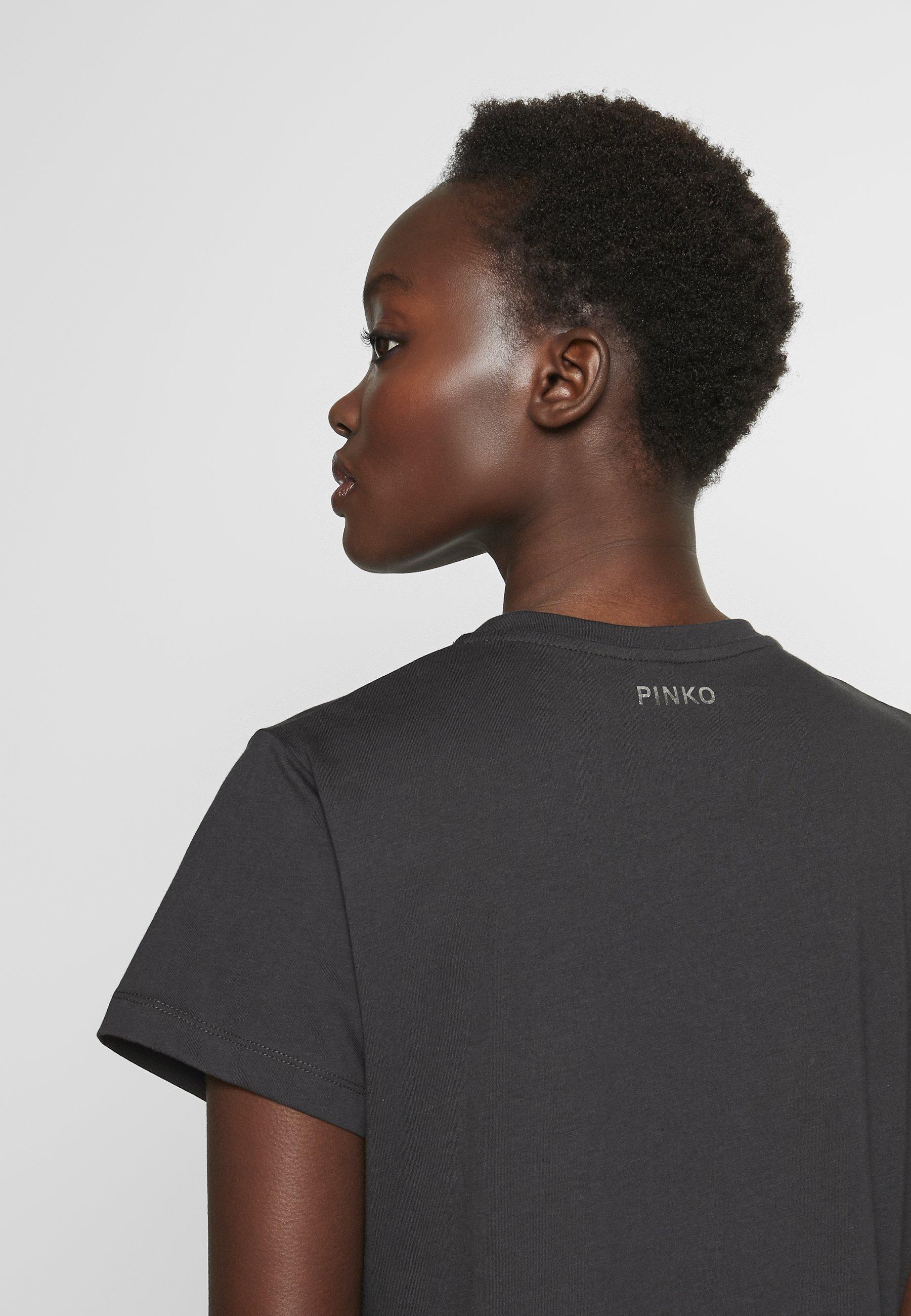 Pinko GINGER ALE - T-shirt z nadrukiem - black