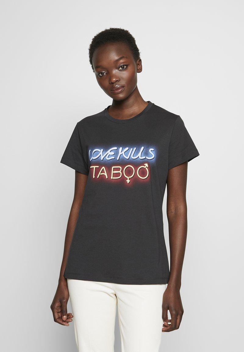 Pinko - GINGER ALE - T-shirt med print - black
