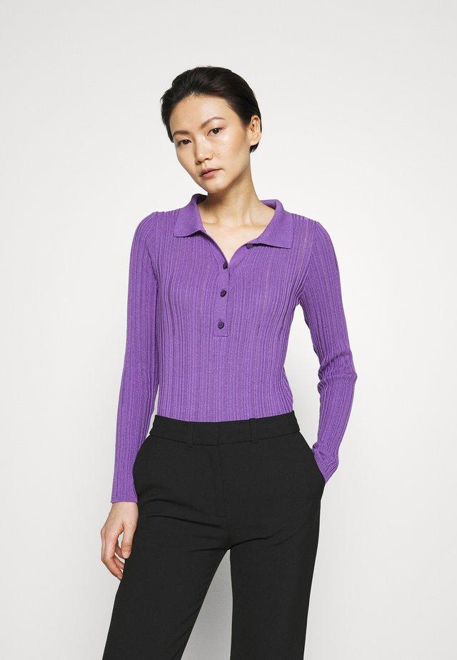 BECKY - Piké - purple