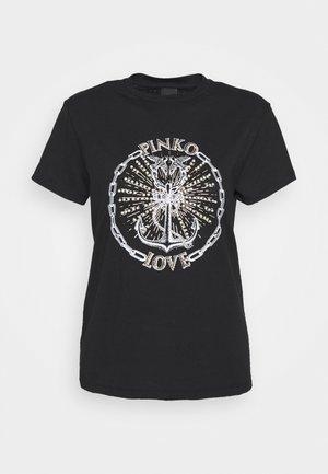 EDGARDO - T-shirt print - nero