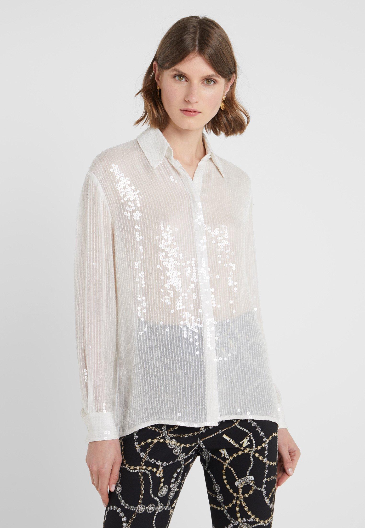 Camicia FullChemisier White Marea Alta Pinko XN0kwnO8P
