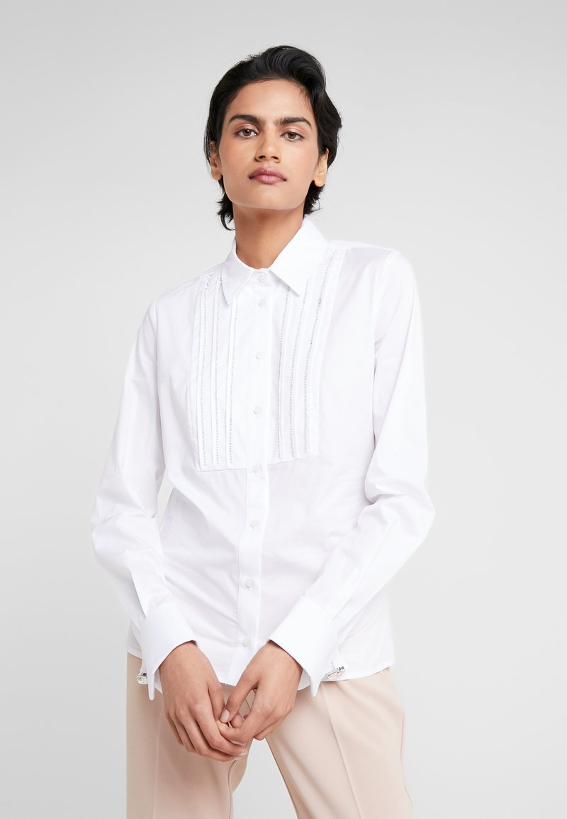 Pinko - RESCUE CAMICIA STRETCH - Blouse - white