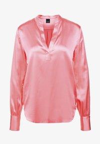 Pinko - PETRALI BLUSA STRETCH - Blouse - rosa corallo calipso - 4