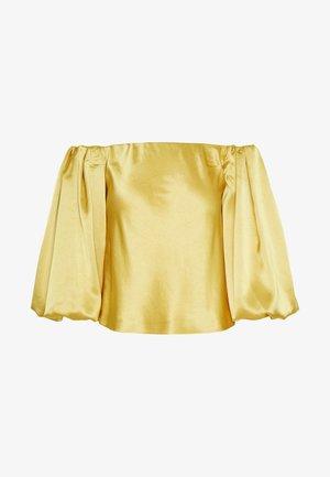 MOUSSE BLUSA - Blouse - giallo