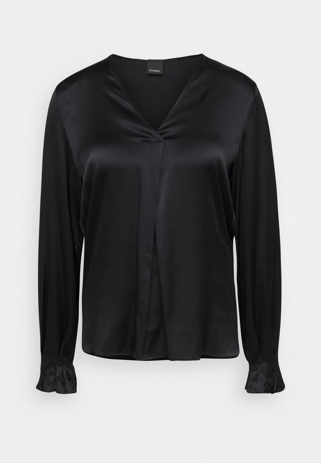 RENZO BLOUSE - Blouse - black