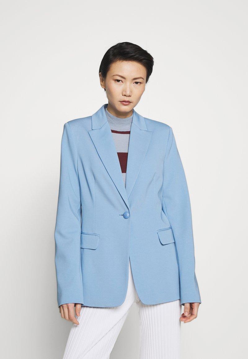 Pinko - SIGMA GIACCA PUNTO STOFFA SCUB - Blazer - azzurro fascino