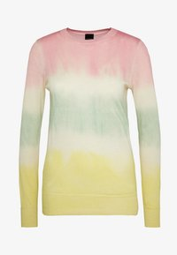 Pinko - ILE DE FRANCE MAGLIA  - Sweter - rosa/verde/giallo - 5