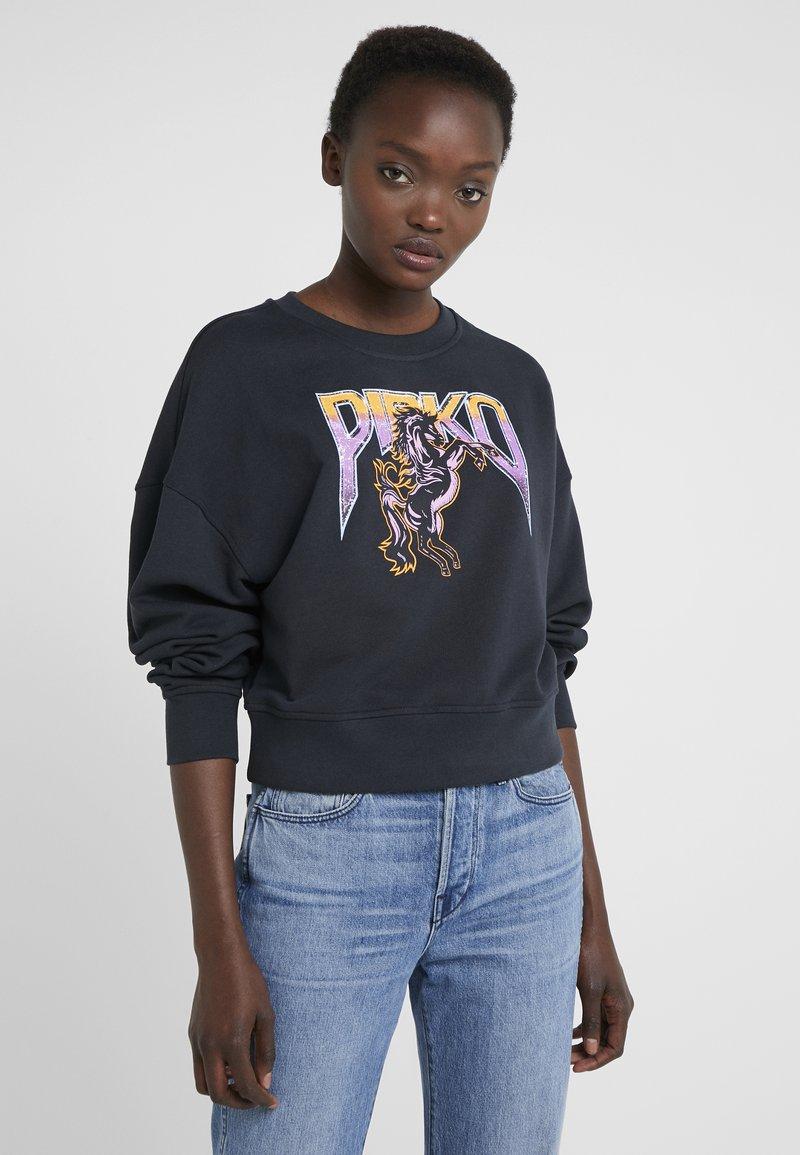 Pinko - LACRIMARE MAGLIA  - Sweatshirt - black