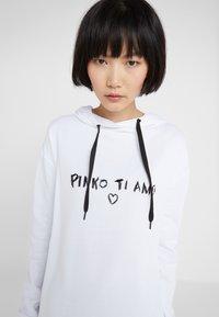 Pinko - MAGLIA - Hoodie - white - 3