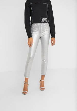 SUSAN  - Jeans Skinny - argento metallizzato