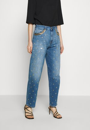 MARY MOM FIT - Jeansy Relaxed Fit - blue
