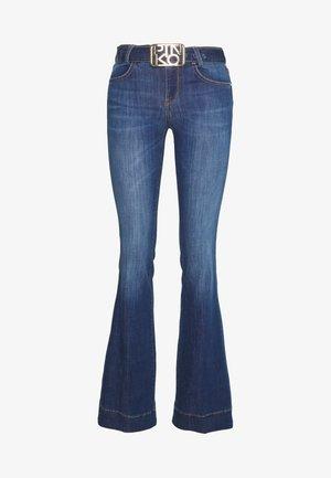 FELIZ FLARE - Flared Jeans - blue