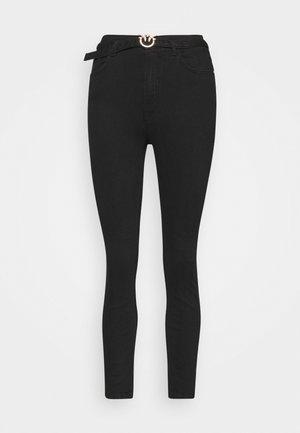 SUSAN TROUSERS - Jeans Skinny Fit - black