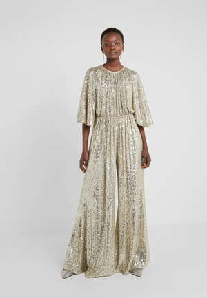 AQUARIUS TUTA FULL PAILLETTES STRETCH - Jumpsuit - gold