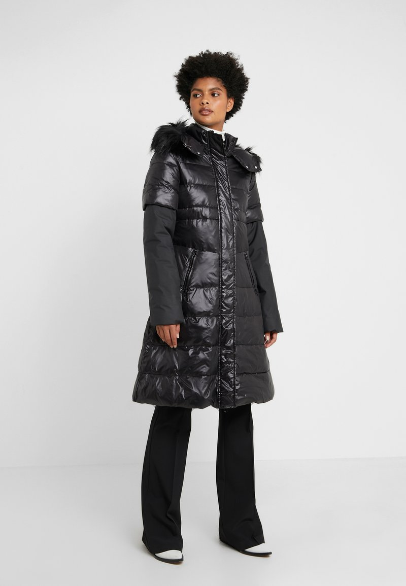 Pinko - MISCHIARE PIUMINO - Winter coat - black