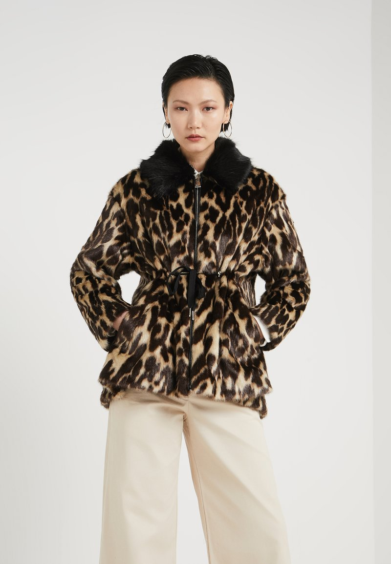 Pinko - TANGERE SIMILP - Giacca invernale - marone/beige