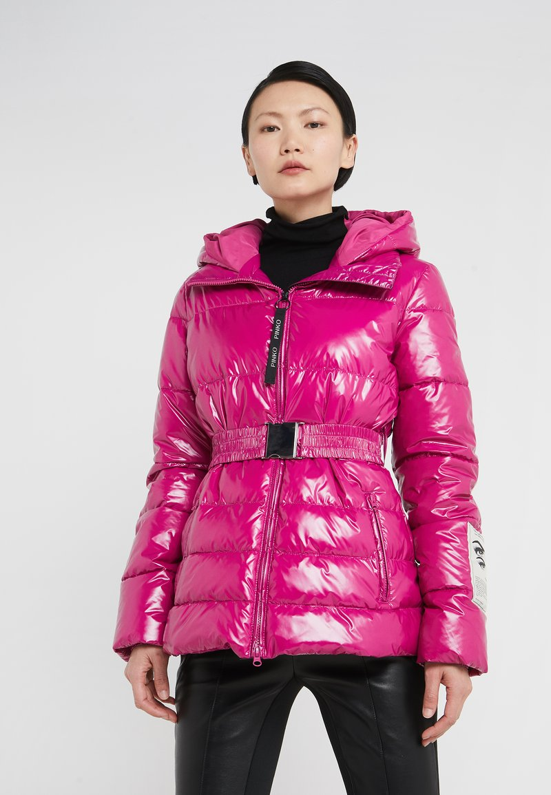 Pinko - WAITING GLOSSY - Winter jacket - purple