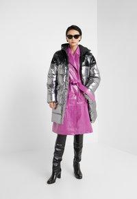 Pinko - PAMPERO PIUMINO  - Zimní kabát - silver - 1
