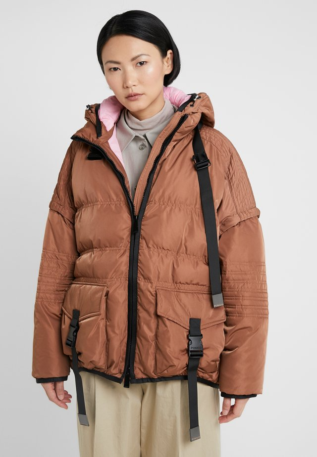 STREGA PIUMINO  - Winter jacket - light brown