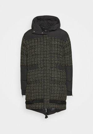 GIANMARIA QUILTED COAT - Abrigo de invierno - black