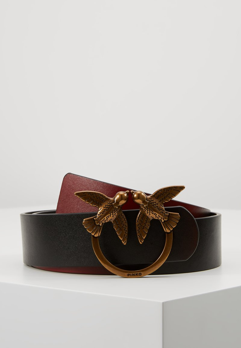 Pinko - SPOKANE BELT - Cinturón - dark red