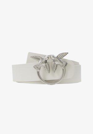 BERRI SIMPLY BELT - Belt - white
