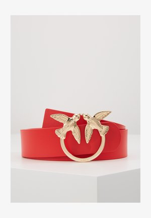 BERRI SIMPLY BELT - Belt - red