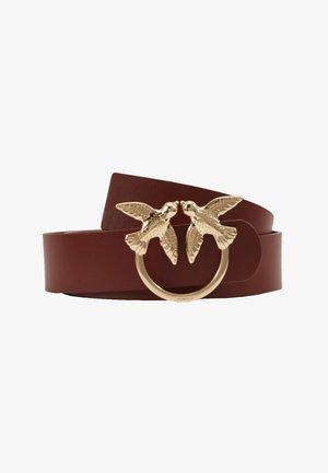 BERRI SIMPLY BELT - Belt - dark brown