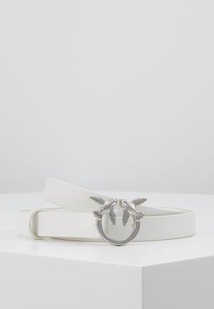 BERRI SMALL SIMPLY BELT - Pasek - white
