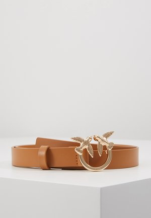 BERRI SMALL SIMPLY BELT - Pasek - light brown