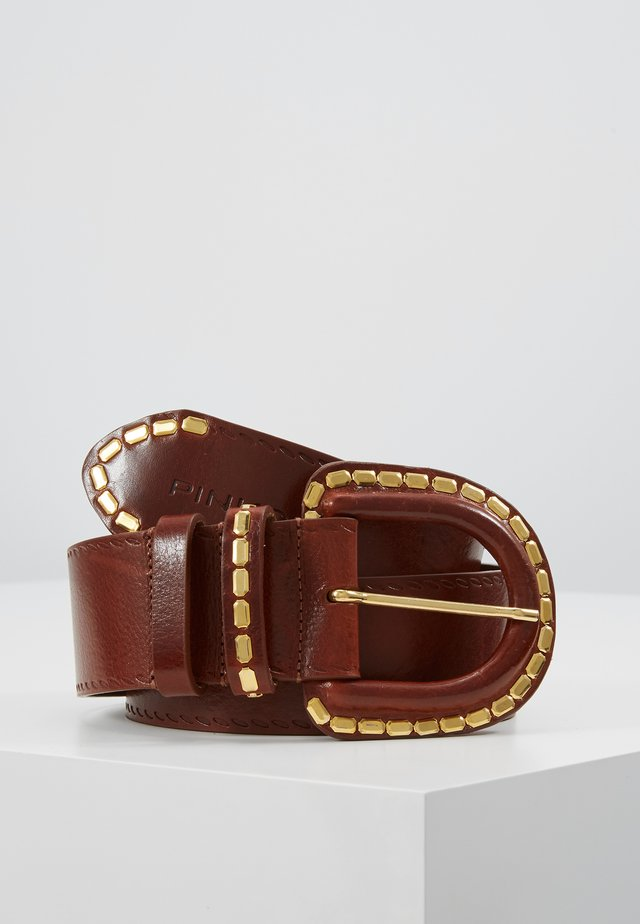 ELSIRA - Belt - dark brown