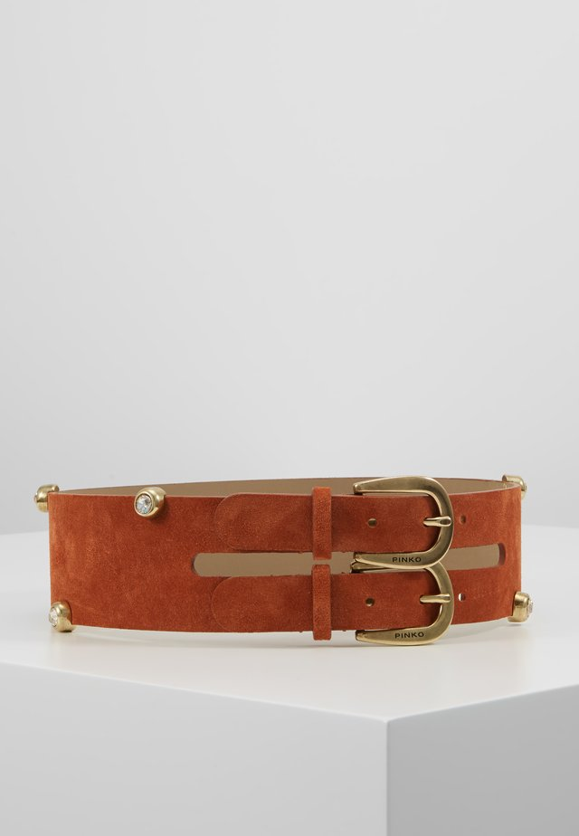 BARRANCA - Waist belt - dark brown