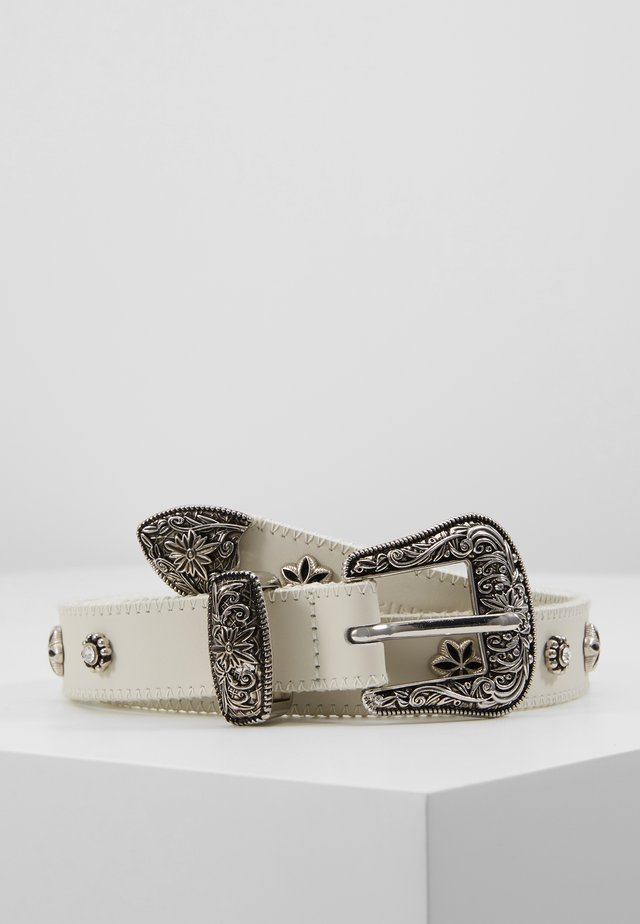 JUNIN - Belt - ivory