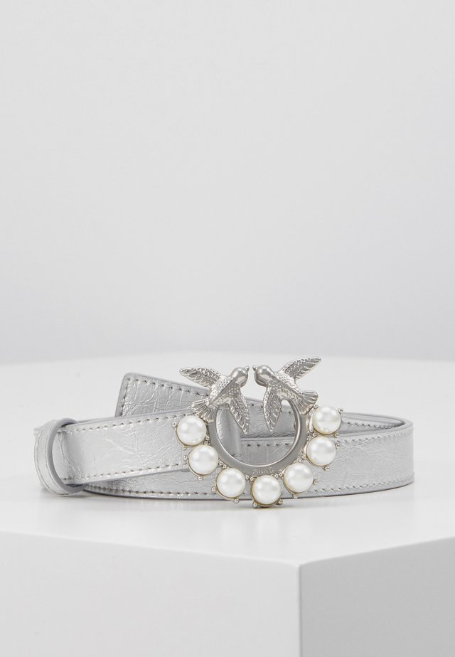 BERRY SMALL BELT - Skärp - silver