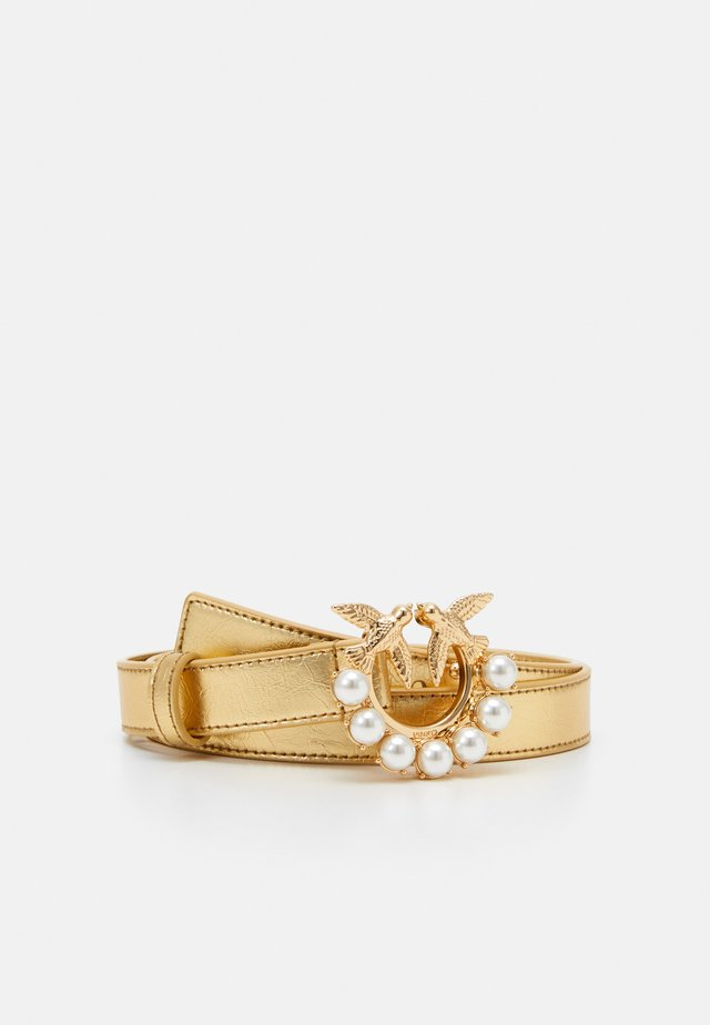 BERRY SMALL BELT - Skärp - gold-coloured